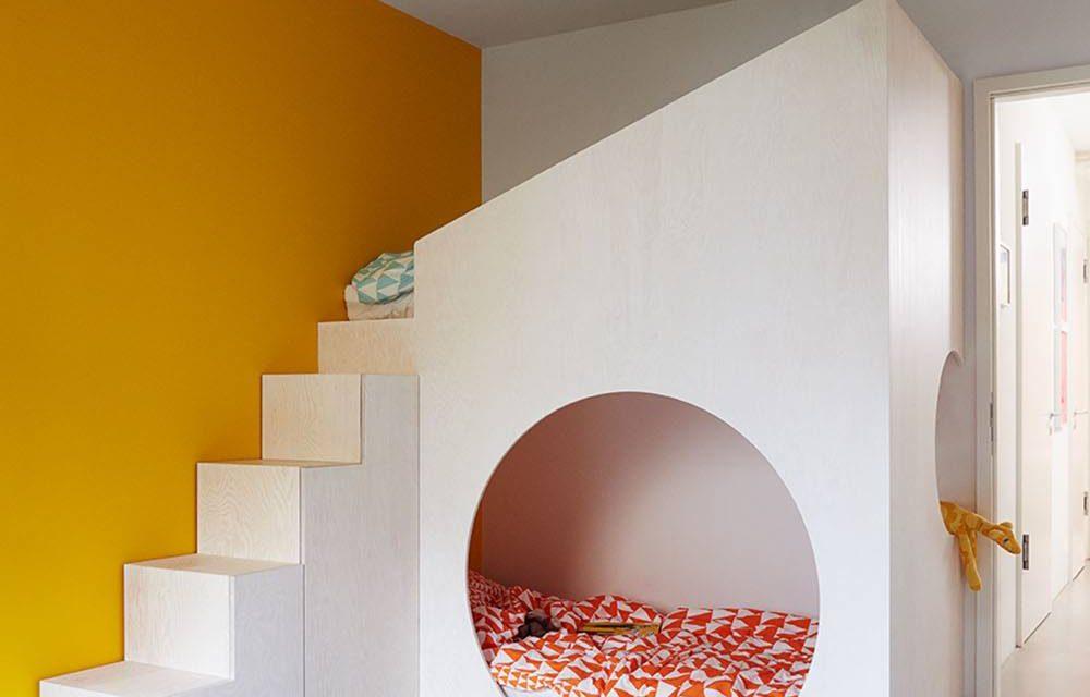 Una habitaci n compartida llena de dise o decopeques - Diseno de una habitacion ...