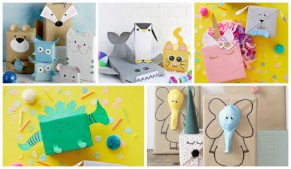 Como empaquetar los regalos con forma de animales