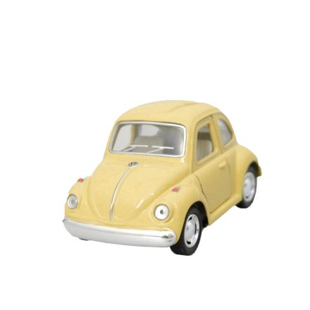 "Mini Coche Juguete ""Little Beetle"" Classical Amarillo"