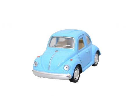 "Mini Coche Juguete ""Little Beetle"" Classical Azul"