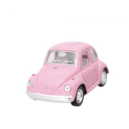 "Mini Coche Juguete ""Little Beetle"" Classical Rosa"