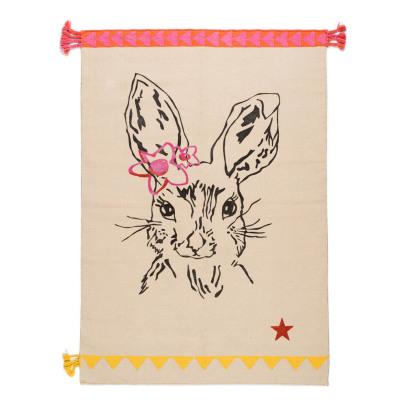 Alfombra Clapin de algodón - Conejo