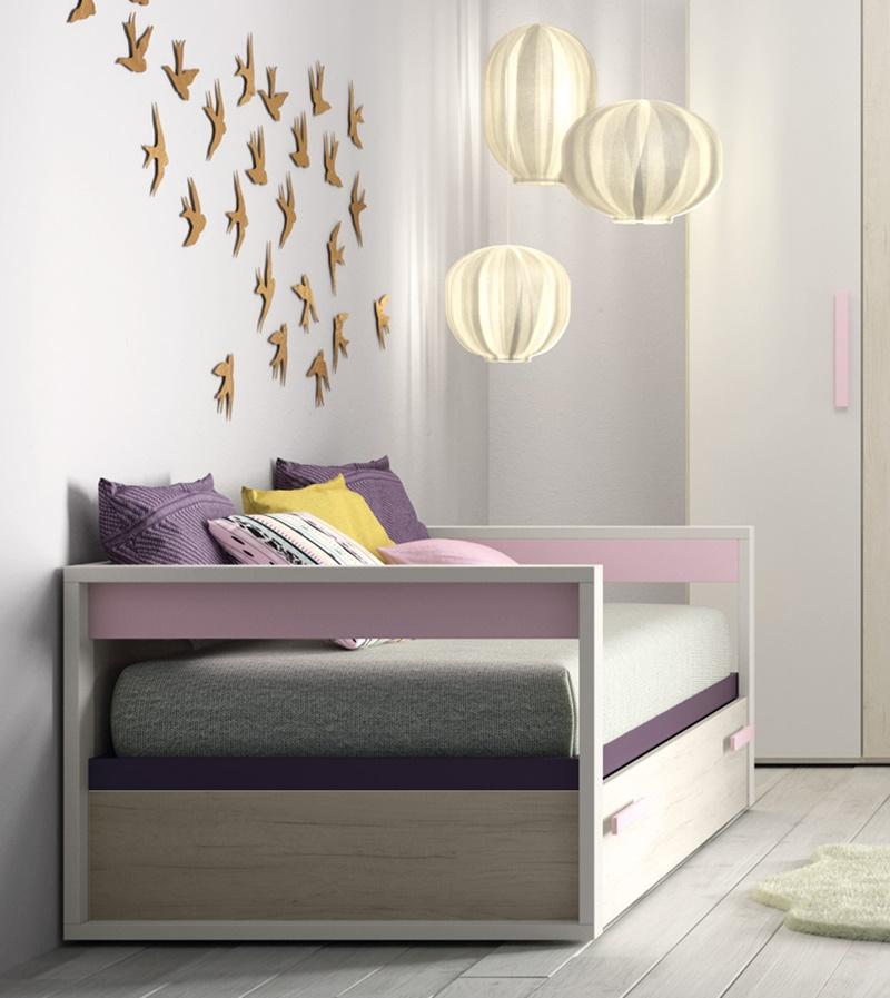 C mo decorar habitaciones infantiles con lagrama decopeques - Camas nido pequenas ...
