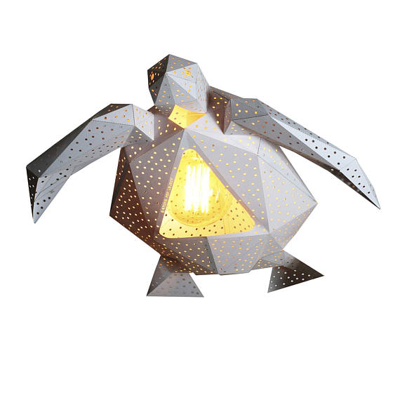 Lámpara Tortuga blanca