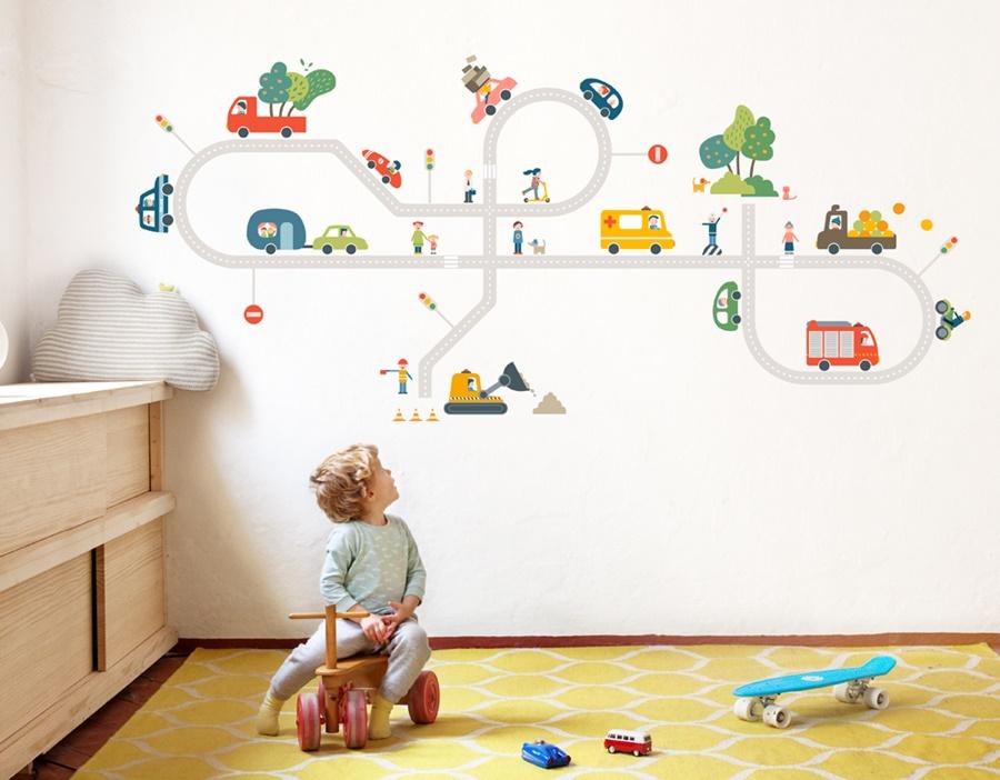 Bumoon y sus vinilos infantiles decopeques - Vinilos murales infantiles ...