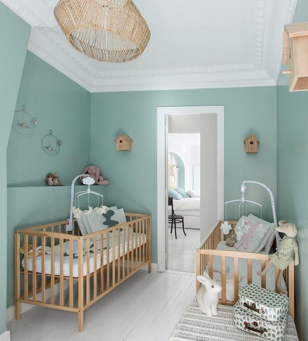 Pintura vs papel pintado en habitaci n infantil decopeques - Pintura habitacion ninos ...