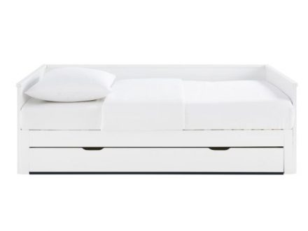 Cama extensible 90x190 blanca Happy Camper
