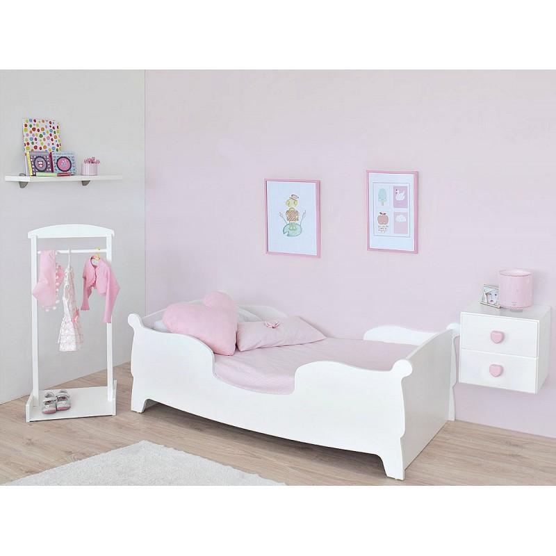 Nuevas camas montessori de bainba decopeques - Camas infantiles blancas ...