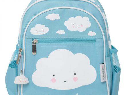 A Little Lovely Company - Mochila Infantil Azul Nube