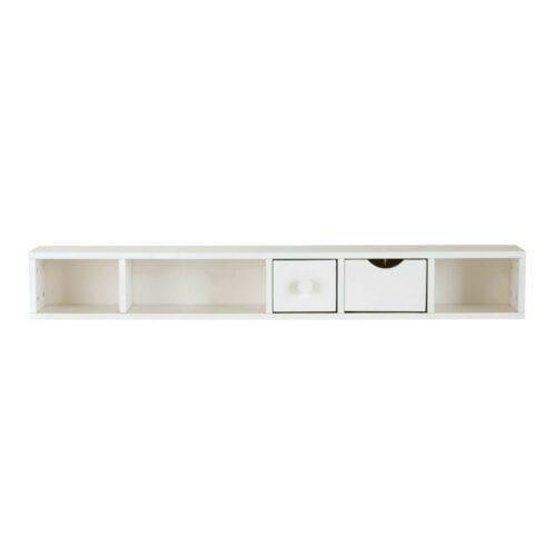 Módulo organizativo blanco para escritorio con 2 cajones Joy