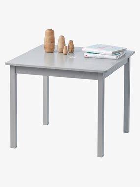 Mesa de juego para niño Sirius gris medio liso