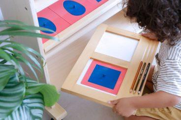 Materiales didácticos de Mumuchu para el método Montessori