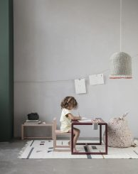 Decoración Montessori para las habitaciones infantiles