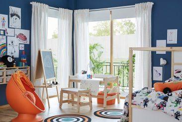 Colección Flisat de Ikea: excelente para una habitación Montessori