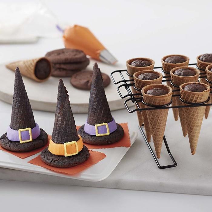 Recetas de Halloween: dulces sombreros de bruja