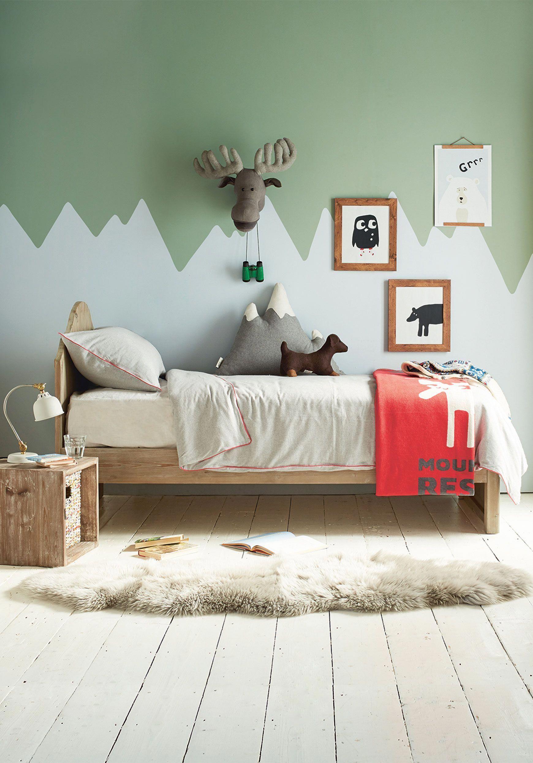 Creando Zonas Y Espacios Con Pinturas En Las Paredes Decopeques - Pinturas-en-paredes
