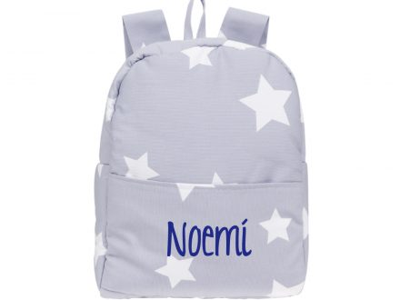 Mochila Plastificada Star Big Azul Personalizada