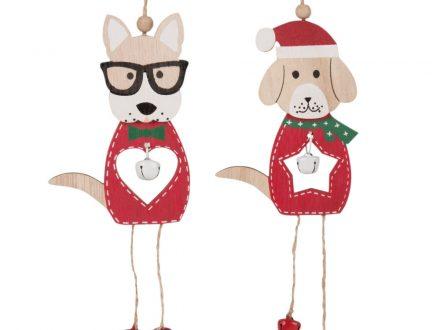 Adornos de Navidad de perros